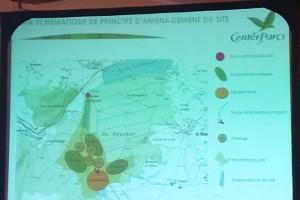 Répartition des infrastructures présentée par Pierre & Vacances